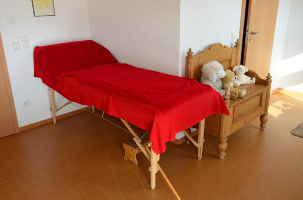 Praxis Behandlungsliege